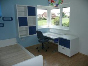 Vybavení dětského pokojíku - Lak v matovém provedení