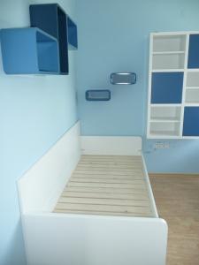 Vybavení dětského pokojíku - Lak v matovém provedení (postel)