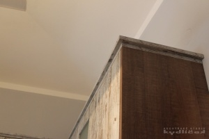 Kuchyně Kydlíček - lamino Emotion (Vintage Matrix)/lamino (dub authentic hnědý), pracodní deska umakart (detail2)
