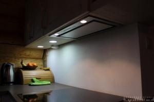 Kuchyně Ballerina - XL 3326 Hemlock-Nachbildung grauweiss (lamino - rámeček) -detail2