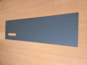 Kalené sklo č.1 - barva: šedá meltalická - cena: 3600,- vč 21% DPH