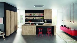 Kuchyne na miru-Ballerina-XL1481, Lamino Mamut eiche