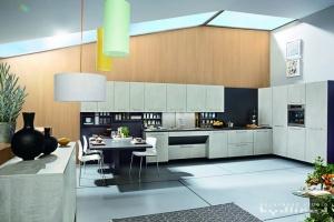 Kuchyne na miru-Ballerina-XL1466, Lamino beton-optik opal