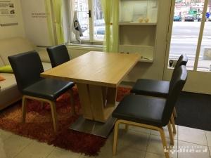 Stůl a židle Wave od německého výrobce zn. Wössner